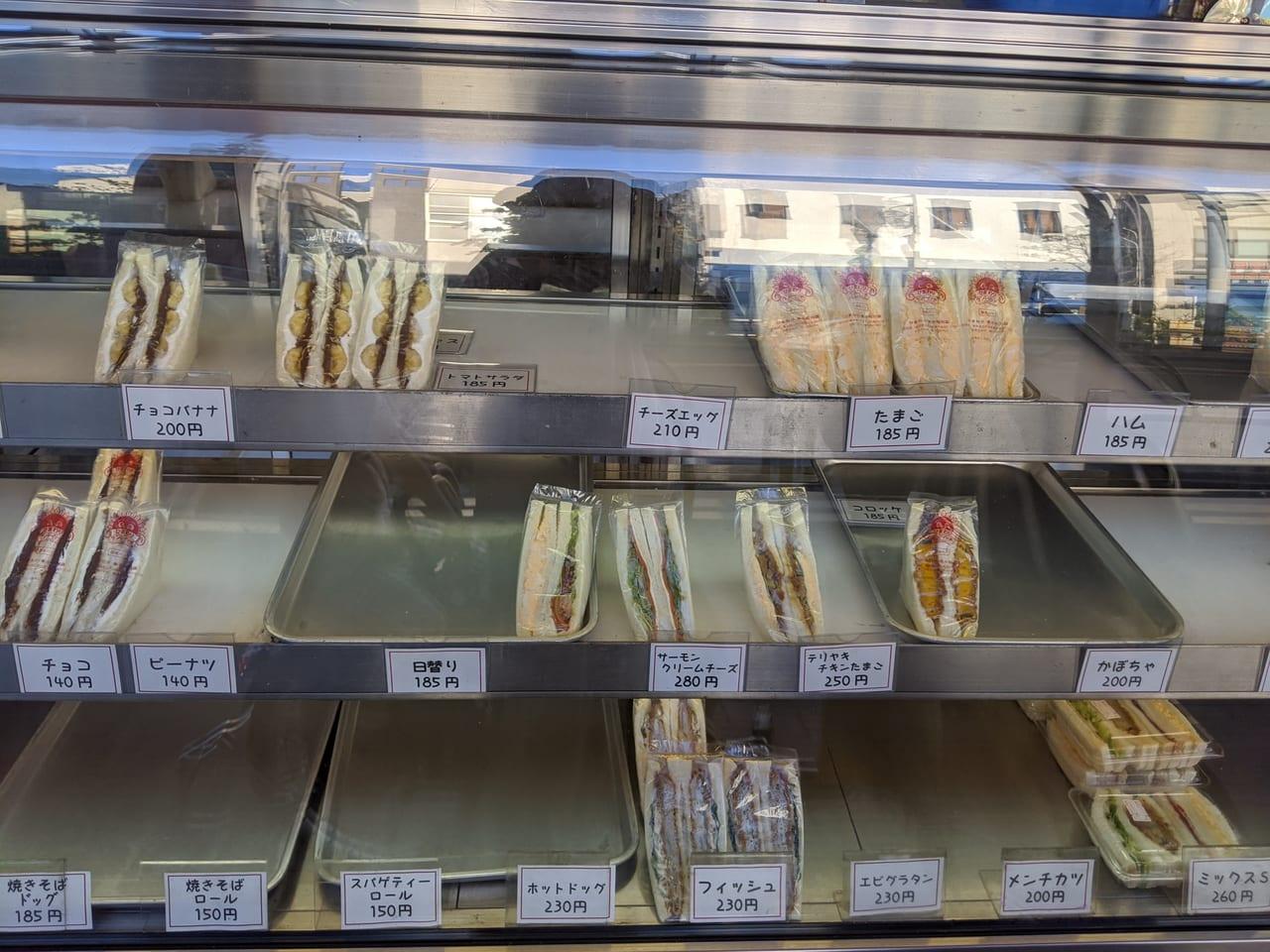『ひまわりサンドイッチ』ショウケース