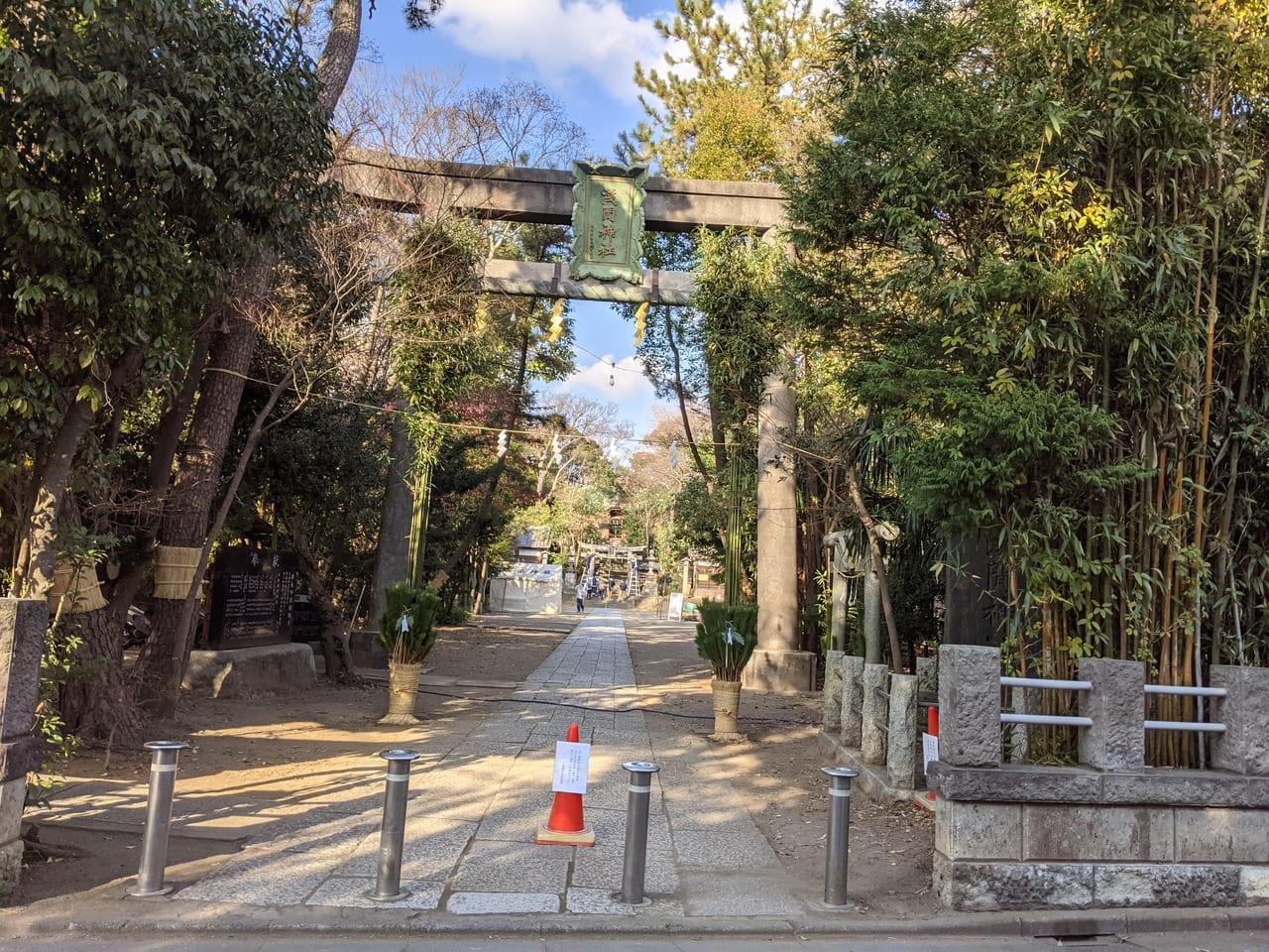 『篠崎浅間神社』