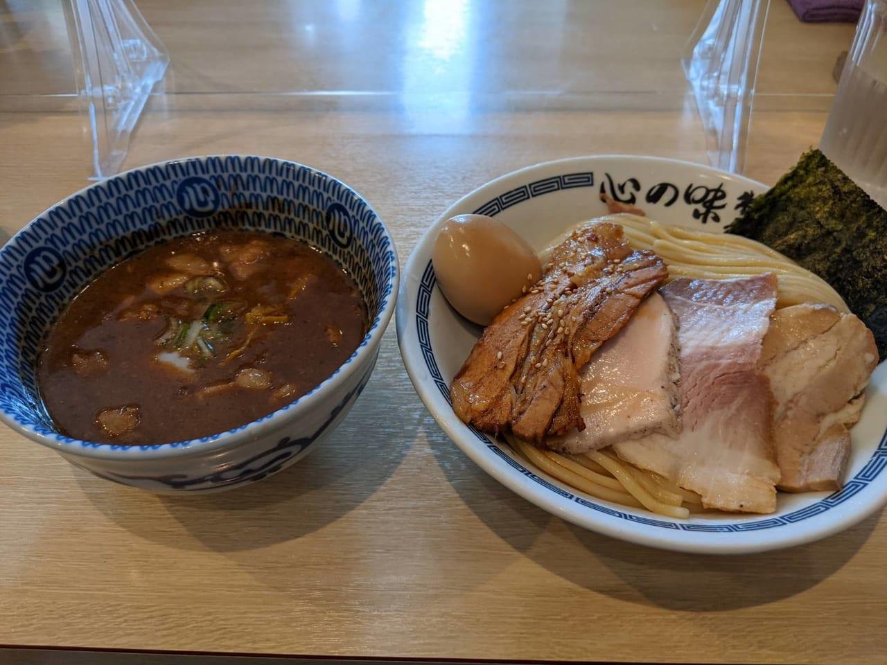 『心の味製麺』つけ麺