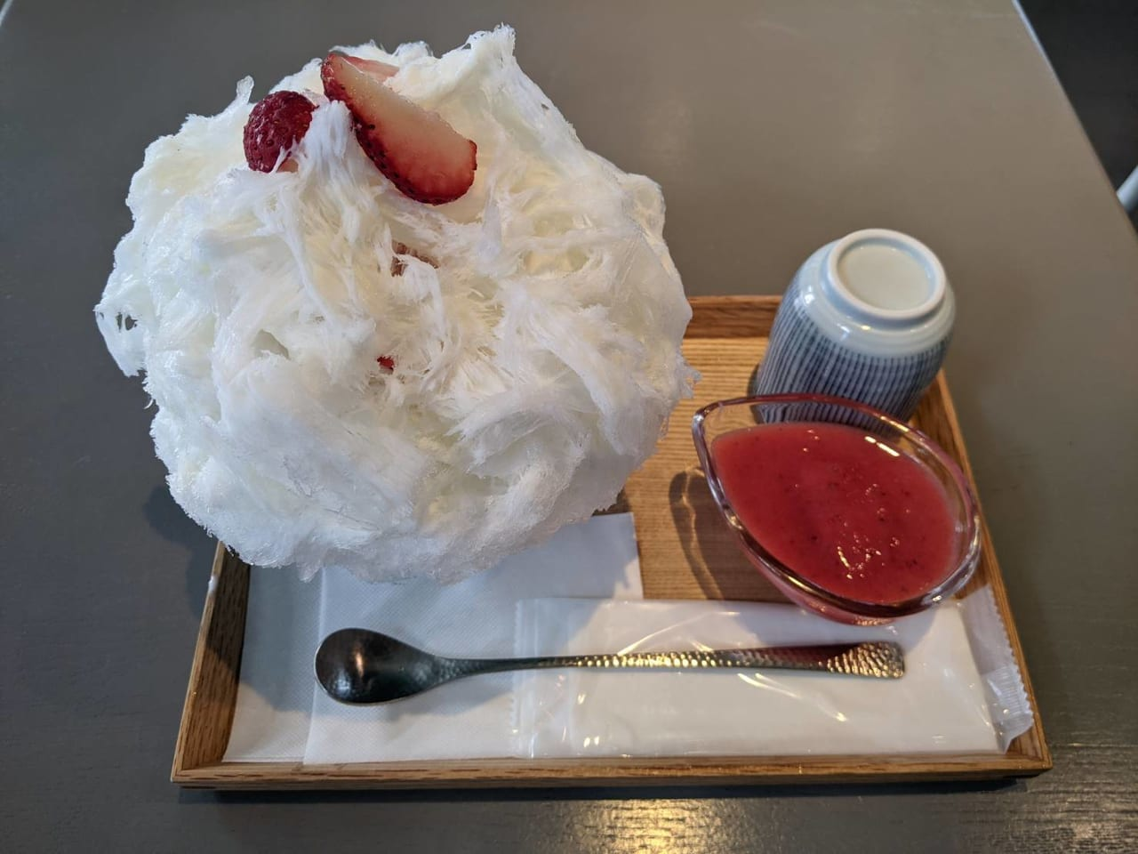 cinq(gonnobakerymarket)かき氷