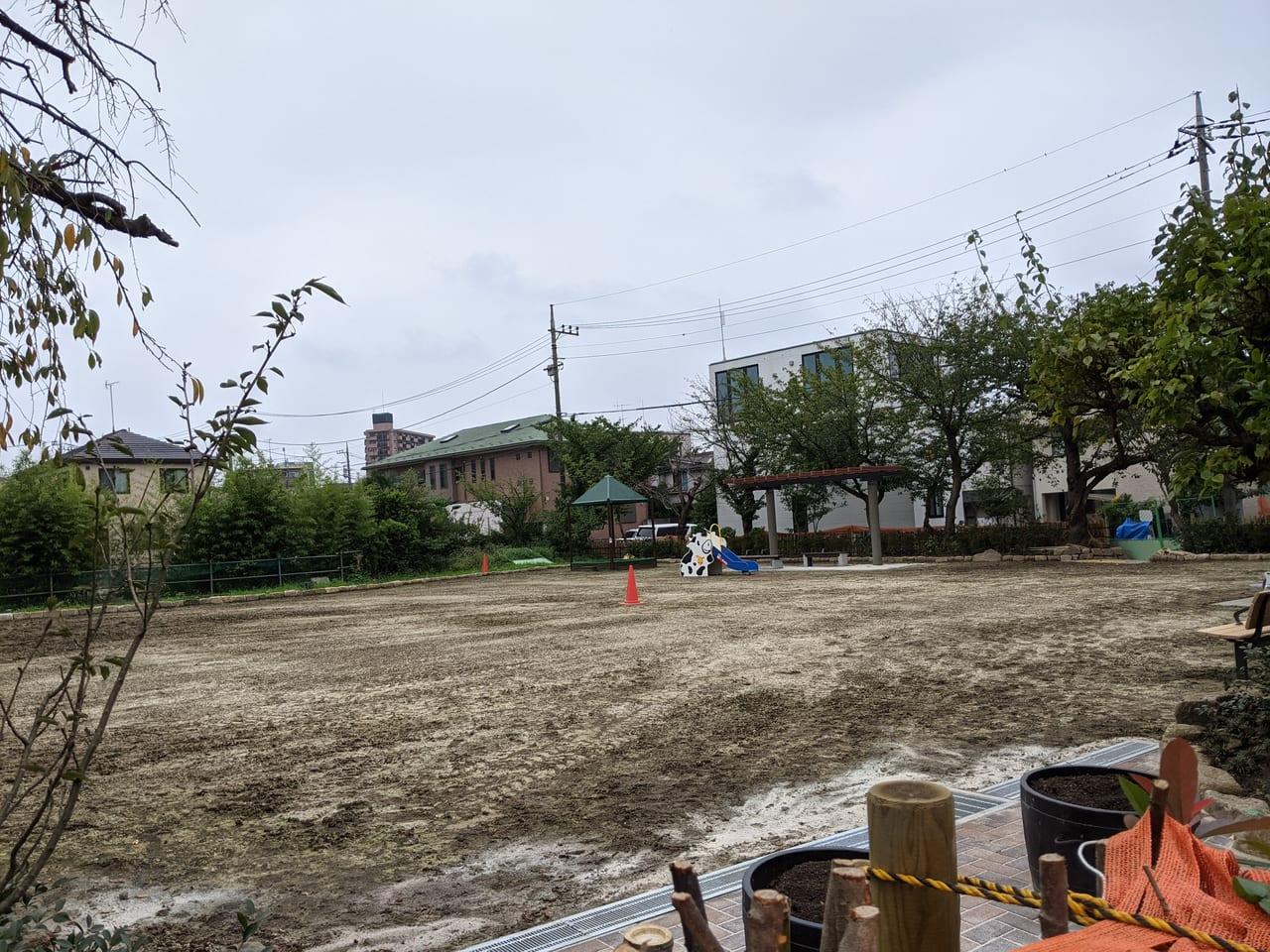 新しい公園